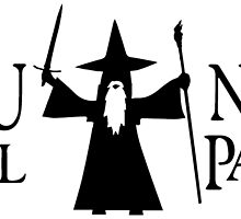 Gandalf Black You Shall Not Pass LOTR Lord Of The Rings by MetroBionic
