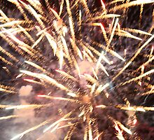 4 of july fireworks 08 north myrtle beach s.c. by mike schronce