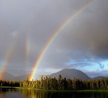 Triple Rainbow by Judith Winde