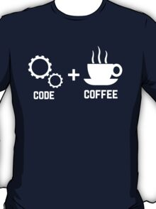 Programmer : code and coffee. I am a programmer T-Shirt