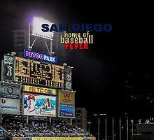 Padres Baseball by don thomas