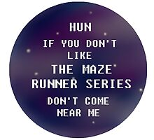 The Maze Runner Series - Wow. by GalaxyHowl
