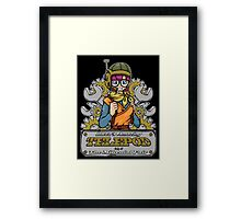 Lucca's Amazing Telepod Framed Print