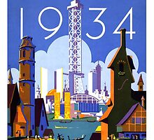 World's Fair Chicago, 1934 by Vintagee