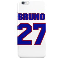 National Hockey player Bruno Gervais jersey 27 iPhone Case/Skin