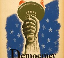 Democracy, a Challenge by Vintagee