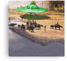 The 14,338 BC Mehrgarh UFO Landing Canvas Print