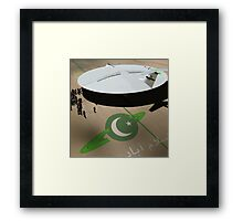 Be amazed at Pakistan's New Hyperdrive Saucer Ramjet Framed Print