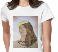 Woman of Royalty Womens Fitted T-Shirt