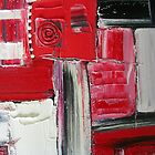 TIME & SPACE - ABSTRACT by Dawn  Hough Sebaugh