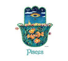 Hamsa for Pisces Photographic Print