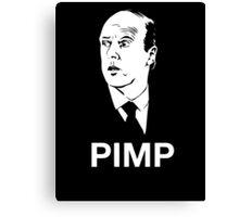 Molesley: Pimp as F**k Canvas Print
