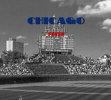 Chicago Home of Baseball Fever by don thomas