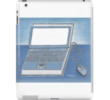 Book and computer iPad Case/Skin