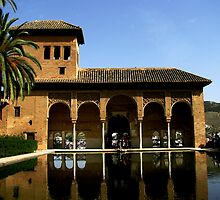 Moorish reflections by Glenn Browning