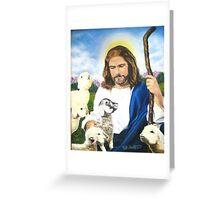 """The Good Shepherd"" Greeting Card"