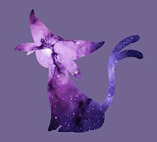Espeon Nebula by IceTigerKitten