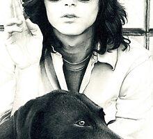 Jim Morrison by Eleanor Milligan