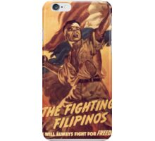 The Fighting Filipinos iPhone Case/Skin