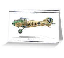 Albatros D.V Jasta 3 - 1 Greeting Card