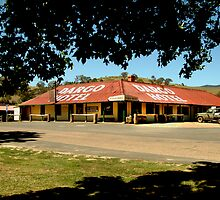 Historic Dargo Hotel, Victorian High Country by Joe Mortelliti