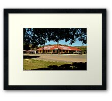Historic Dargo Hotel, Victorian High Country Framed Print