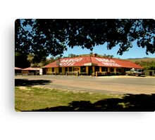 Historic Dargo Hotel, Victorian High Country Canvas Print