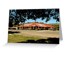 Historic Dargo Hotel, Victorian High Country Greeting Card
