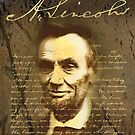 Abraham Lincoln by arteology