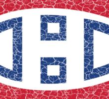Habs (distressed) Sticker