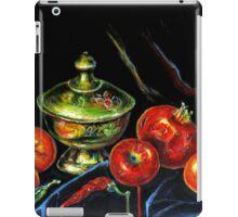 Black Still Life iPad Case/Skin