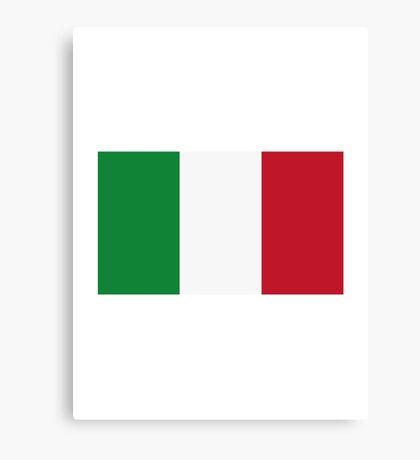 Italy flag Canvas Print