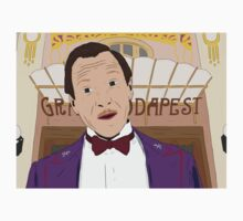M. Gustave - The Grand Budapest Hotel, Wes Anderson Kids Tee