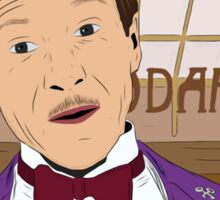 M. Gustave - The Grand Budapest Hotel, Wes Anderson Sticker