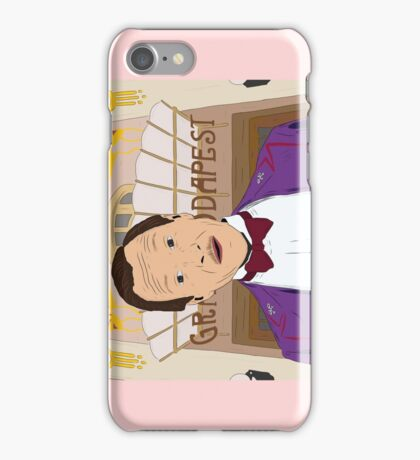 M. Gustave - The Grand Budapest Hotel, Wes Anderson iPhone Case/Skin