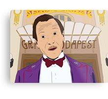 M. Gustave - The Grand Budapest Hotel, Wes Anderson Metal Print