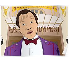 M. Gustave - The Grand Budapest Hotel, Wes Anderson Poster