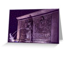 Fountain of Light Greeting Card