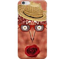 Goofy Face Pattern Duvet iPhone Case/Skin