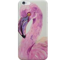 Flamingo in the Pink iPhone Case/Skin