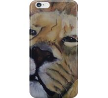 Curious Lion iPhone Case/Skin