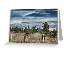 Vineyard Home Greeting Card