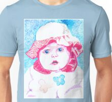 Study in Blue and Pink Unisex T-Shirt