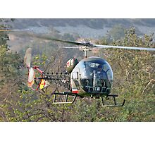 Mash Helicopter Photographic Print
