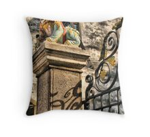 Guardian of Bishop Street Throw Pillow