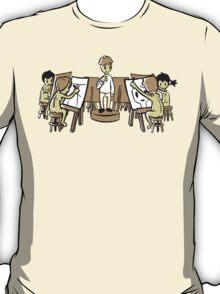 Nudist Figure Drawing T-Shirt