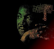 Martin Luther King by foggynotion