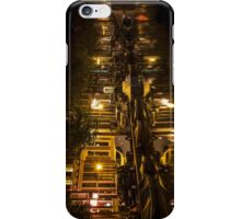 Amsterdam night: canal in Red District iPhone Case/Skin