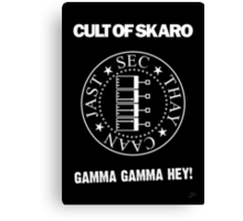 Cult of Skaro Canvas Print