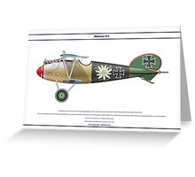 Albatros D.V Jasta 5 - 4 Greeting Card